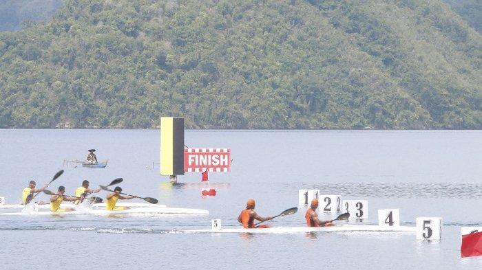 Takluk di Babak Final, Tim Dayung Kalsel Gagal PenuhiTarget Medali di Nomor Kayak 2 Putra 1000 meter