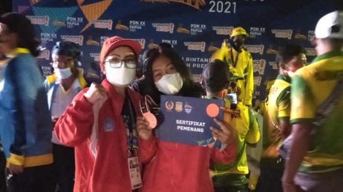 Layar Sumbang Medali untuk Sulut, Alifah Aurelia Raih Perunggu Nomor Techno Putri
