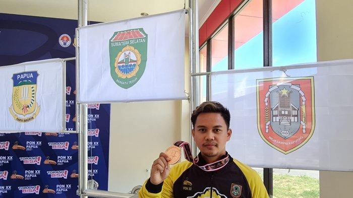 Petembak Kalsel Raih Medali Perunggu di Nomor 10 m Running Target Mixed Men PON XX