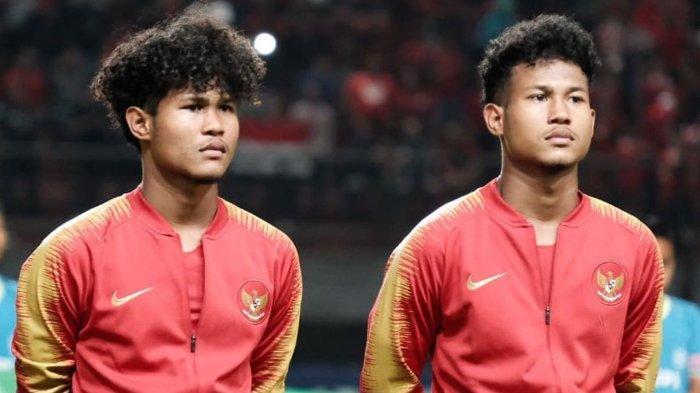 Ketika Si Kembar Timnas U-19 Indonesia Bagus Kahfi dan Bagas Kaffa Bikin Pusing Pelatih di Inggris