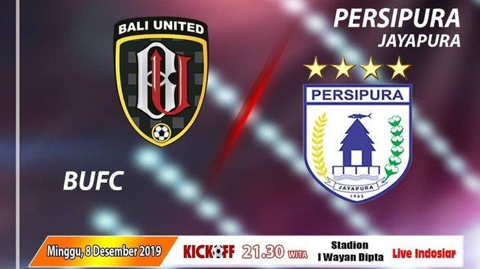 Prediksi dan Link Live Streaming Bali United Vs Persipura Jayapura, Hari Ini Pukul 20.30 WIB