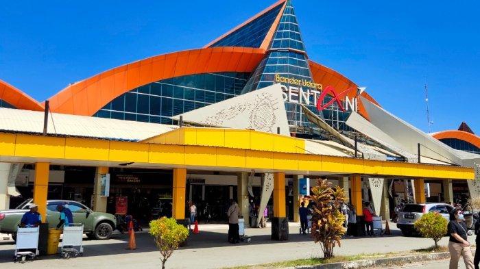Jelang PON XX 2021, Fasilitas Bandara Sentani dalam Tahap Pembenahan
