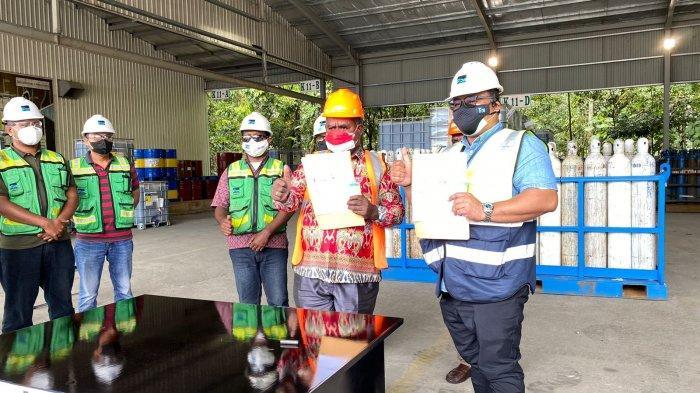 Freeport Salurkan 570 Oksigen Medis ke RSUD Mimika dan RSMM