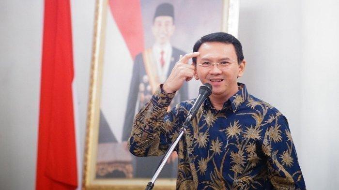 Ahok Hadiri Pelantikan Jokowi-Ma'ruf, Lihat Penampilannya