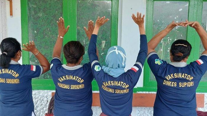 Dinkes Papua Datangi 3 Kabupaten untuk Pelatihan dan Lakukan Vaksinasi Covid-19