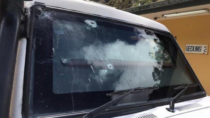 Detik-detik Mobil Patroli Polsek Tembagapura Ditembaki KKB, Petugas Hendak Berdialog dengan Warga