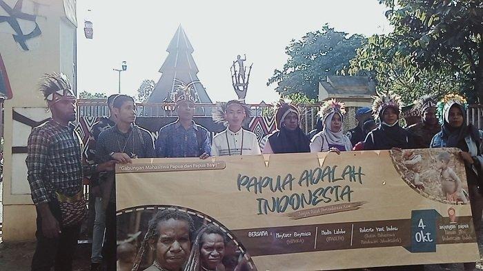 Lima Poin Deklarasi Mahasiswa Papua se-Jabodetabek terkait Kerusuhan di Wamena