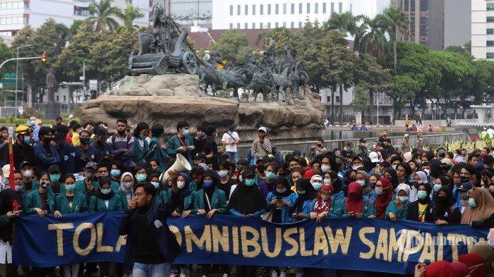 4 Tuntutan BEM SI dalam Demo Tolak UU Cipta Kerja, Satu di Antaranya Desak Presiden Keluarkan Perppu