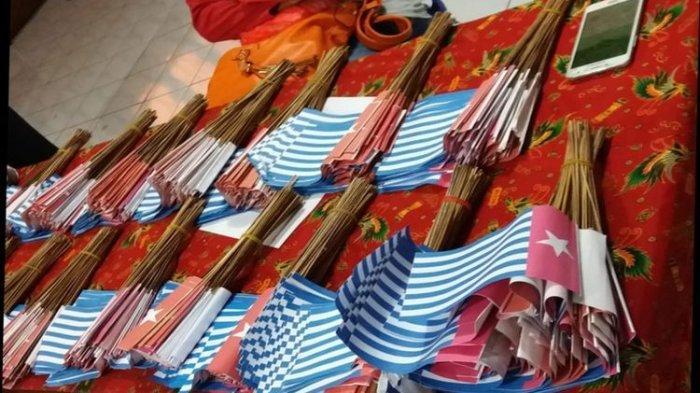 Perempuan Pembawa 1.500 Bendera Bintang Kejora adalah Ketua DPD Perindo Sorong