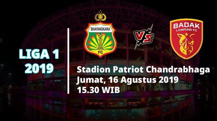 Hasil Akhir Bhayangkara FC Vs Badak Lampung FC: Tim Tamu Berhasil Curi Poin Penuh