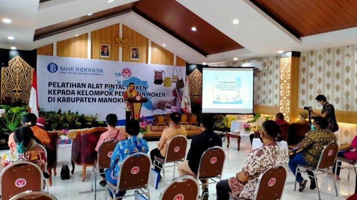 Dukung Pengembangan UMKM dan Tingkatkan Kualitas Noken, BI Papua Barat Gelar Pelatihan di Manokwari