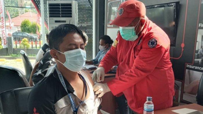 Inilah Daerah Tertinggi dan Terendah Vaksinasi di Provinsi Papua Barat