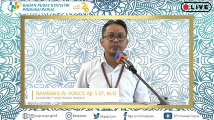 Bambang Wahyu: BPS Catat 3 Kota IHK di Papua Alami Deflasi