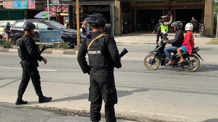1 Brimob Gugur Tertembak setelah 3 Jam Terlibat Kontak Senjata dengan KKB di Mimika Papua