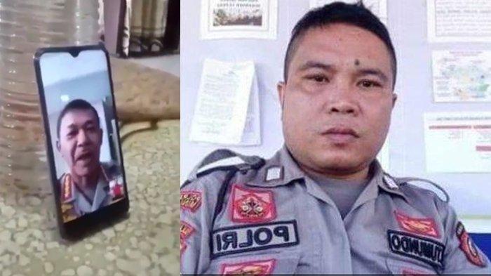 Kapolri Idham Azis Video Call dan Apresiasi Langsung Bripka Jerry: Saya Respek dengan Kamu