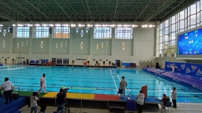 Laga Pertama, Tim PON XX Polo Air Putri DKI Jakarta Libas Yogyakarta