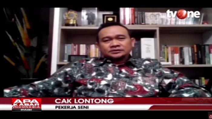 Diundang Jokowi ke Istana untuk Bahas Pandemi, Cak Lontong: Suasananya Santai, Enaklah Ngobrol