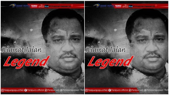 Legenda Persipura Tutup Usia, Jacksen F Tiago dan Sejumlah Pemain Sampaikan Duka Cita