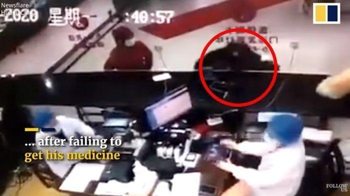Viral Video Hoaks seorang Pria Batuk Sengaja Tularkan Virus Corona, Ini Fakta Sebenarnya