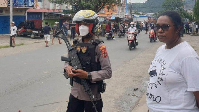 Ludah Pinang Penyebab Pemalangan Jalan oleh Warga di Ibu Kota Papua