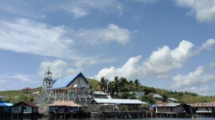 DESTINASI WISATA- Kampung Abar di Distrik Ebungfau Kabupaten Jayapura Papua.