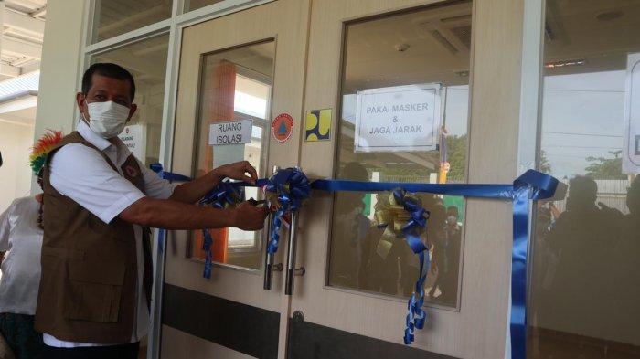 Resmikan RS Covid-19 di Biak Numfor, Ketua Satgas Covid-19 Minta Publik Patuhi Protokol Kesehatan