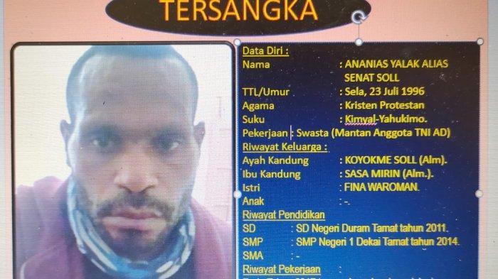 Polda Papua Barat Keluarkan DPO Pembantaian 4 TNI di Maybrat