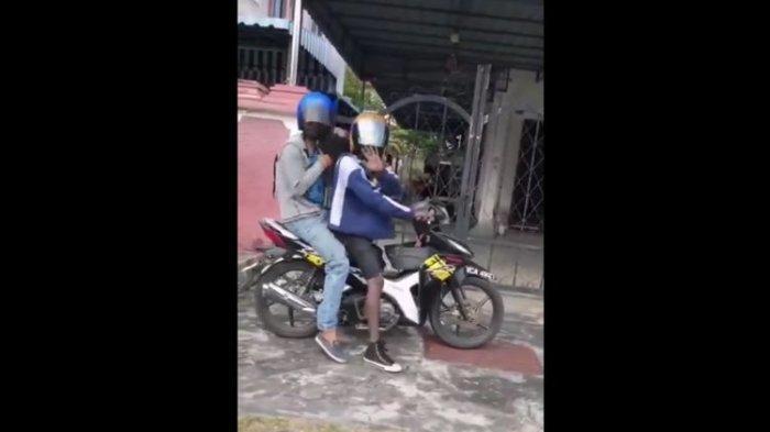 Viral Video 2 Maling Dipergoki Pengendara Mobil, Langsung Panjat Pagar dan Minta Maaf