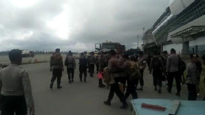 Pasca-Kerusuhan, Polri Kirim 2 SSK Brimob ke Timika untuk Pulihkan Situasi Keamanan