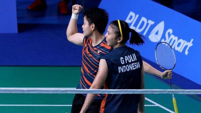 Medali Emas Final Badminton SEA Games 2019 Diraih Greysia/Apriyani, Begini Jalannya Pertandingan