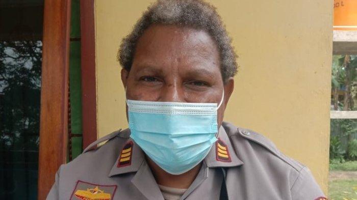 Engelberta Kaize, Kapolsek Merauke Kota Jadi Salah Satu Pembawa Obor Api PON XX