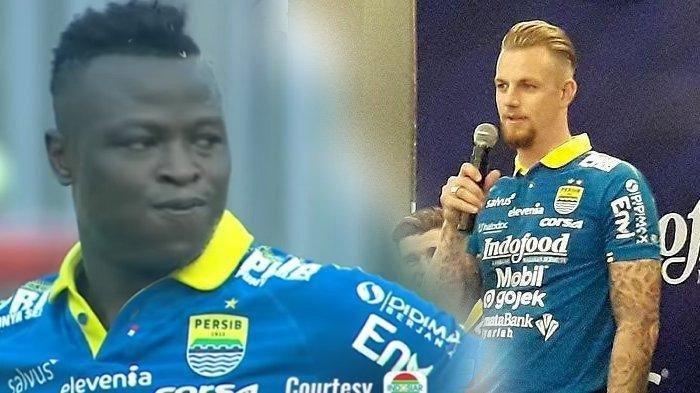 Sempat Ribut, Ezechiel dan Kevin Justru Jadi Duet Andalan Persib Bandung saat Lawan Persipura