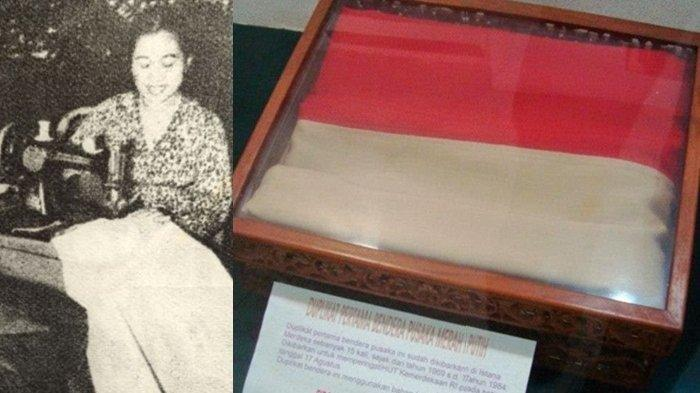 Kisah Fatmawati saat Menjahit Sang Saka Merah Putih: 'Saya Menumpahkan Air Mata di Atas Bendera'