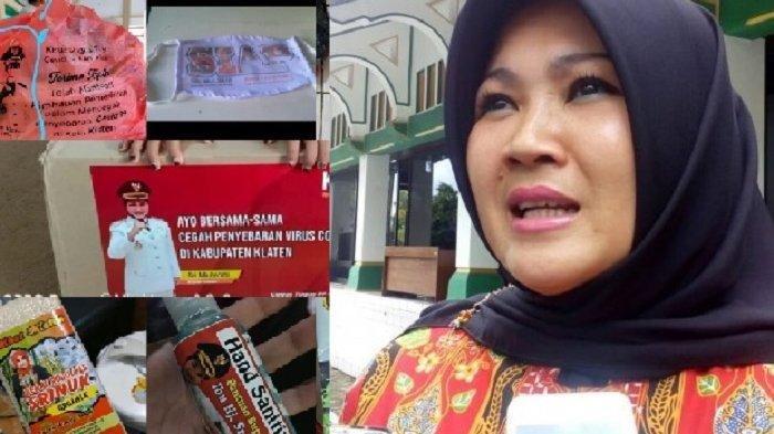 Soal Penempelan Foto Dirinya di Hand Sanitizer Bantuan dari Kemensos, Bupati Klaten: Ada Kekeliruan