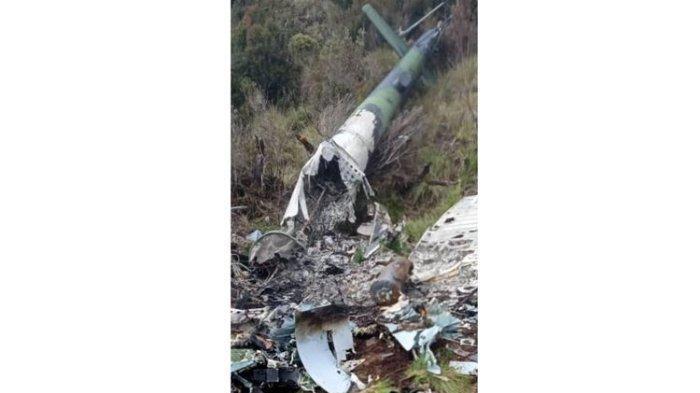 Pencarian Heli MI-17 yang Hilang 8 Bulan di Papua, TNI Terus Cari Kebenaran Foto Bangkai Pesawat