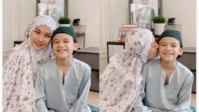 Senyum BCL dan Noah di Hari Raya Idul Fitri, Ada Ashraf Sinclair di Dalam Bingkai Foto