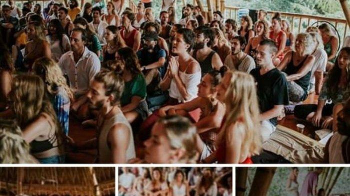 Viral Video dan Foto Puluhan WNA Yoga Tanpa Jaga Jarak dan Masker di Bali, Pendiri: Saya Menyesal