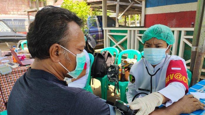 100 Warga Ikuti Vaksinasi Covid-19 di Gereja Imanuel Jayapura
