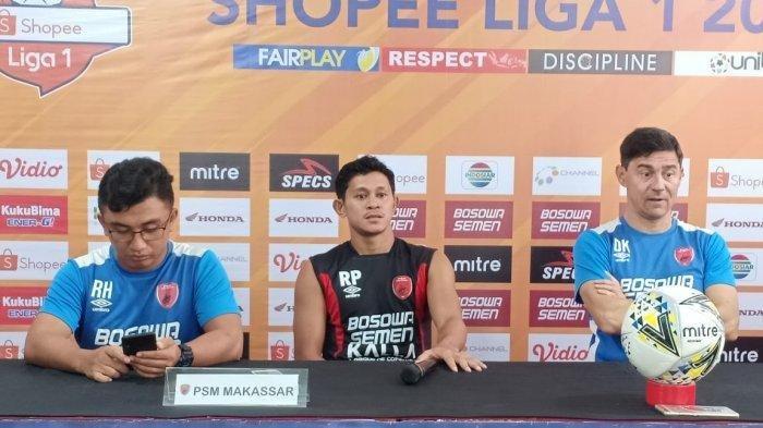Gelandang PSM Makassar Rizky Pellu Siap Lawan Persipura meski Akui Tak Mudah Kalahkan Mutiara Hitam