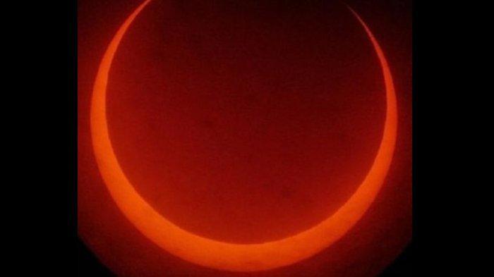 Link Live Streaming Fenomena Gerhana Matahari Cincin Minggu 21 Juni di Sejumlah Wilayah di Indonesia