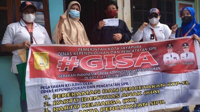 Cegah Kerumunan di Masa Pandemi Covid-19, Ini yang dilakukan Disdukcapil Kota Jayapura