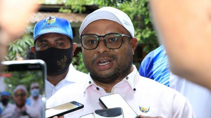 KNPI Provinsi Papua Sumbang Satu Sapi Untuk OKP dan OKPI