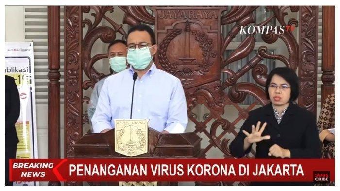 Suara Anies Bergetar Sebut 283 Kasus Kematian Korban Corona di DKI: Warga Kita yang Bulan Lalu Sehat
