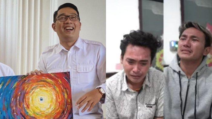 Tanggapi Video Pemuda Nangis di Kantor Polisi, Ridwan Kamil: Ganteng Doang, Jemput Cewek Depan Gang