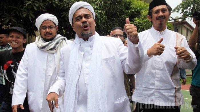 Di Depan Peserta Reuni 212, Habib Rizieq: Saya Masih Dicekal atas Pemintaan Pemerintah Indonesia