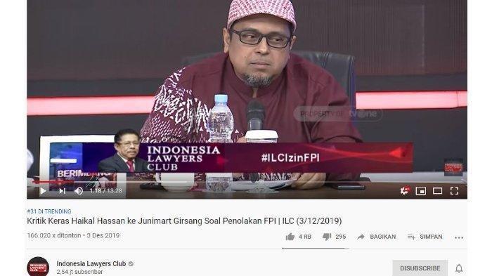 Klaim Tito Karnavian Dukung FPI, Haikal Hassan: Ini Jadi Blunder karena Pak Junimart Girsang