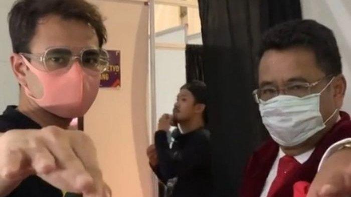 Adu Harga Lamborghini dengan Hotman Paris, Raffi Ahmad: Kalau Om Hotman Ban Kempes, Mobilnya Ganti