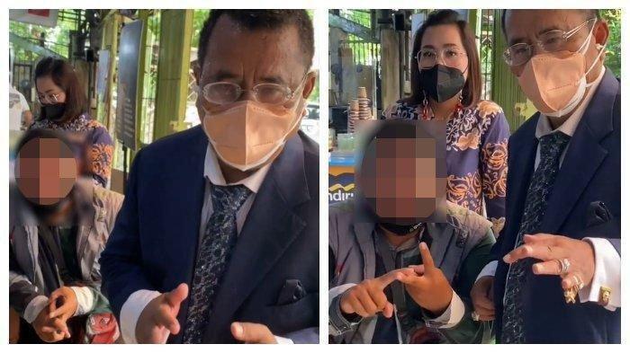 Cari Keadilan, Seorang Ayah Menangis Datangi Hotman Paris: Tolong Pak, Pelaku Pertamanya Bebas