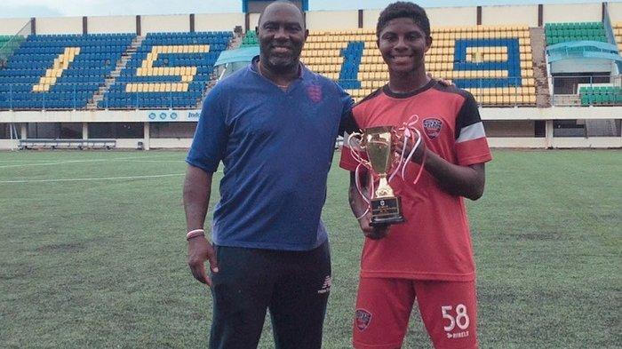 Hugo Sumir, Ikut Jejak Ayahnya Jacksen F Tiago di Dunia Sepakbola