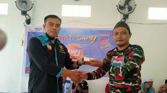 Markas Daerah LMP Papua Hadiri Anniversary Ke-5 IWJ Korwil Jayapura